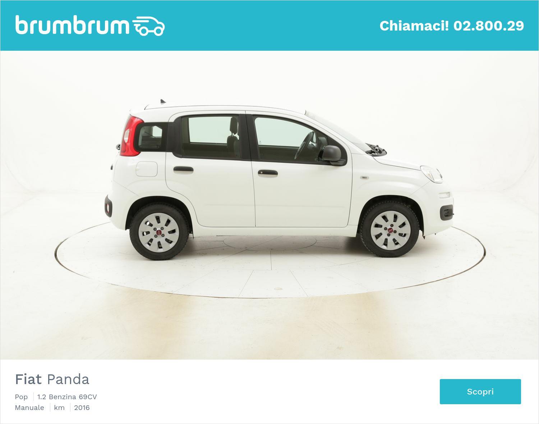 Fiat Panda Pop usata del 2016 con 17.136 km   brumbrum
