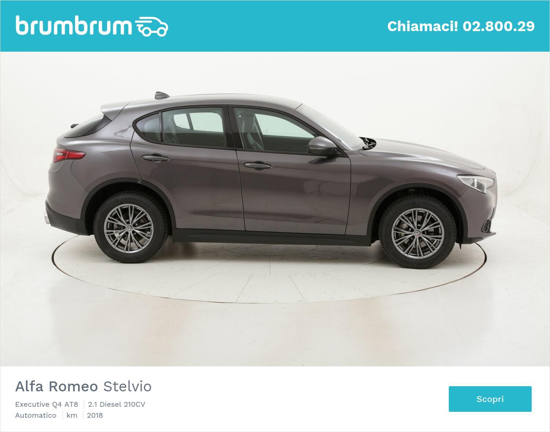 Alfa Romeo Stelvio Executive Q4 AT8 usata del 2018 con 62.088 km | brumbrum