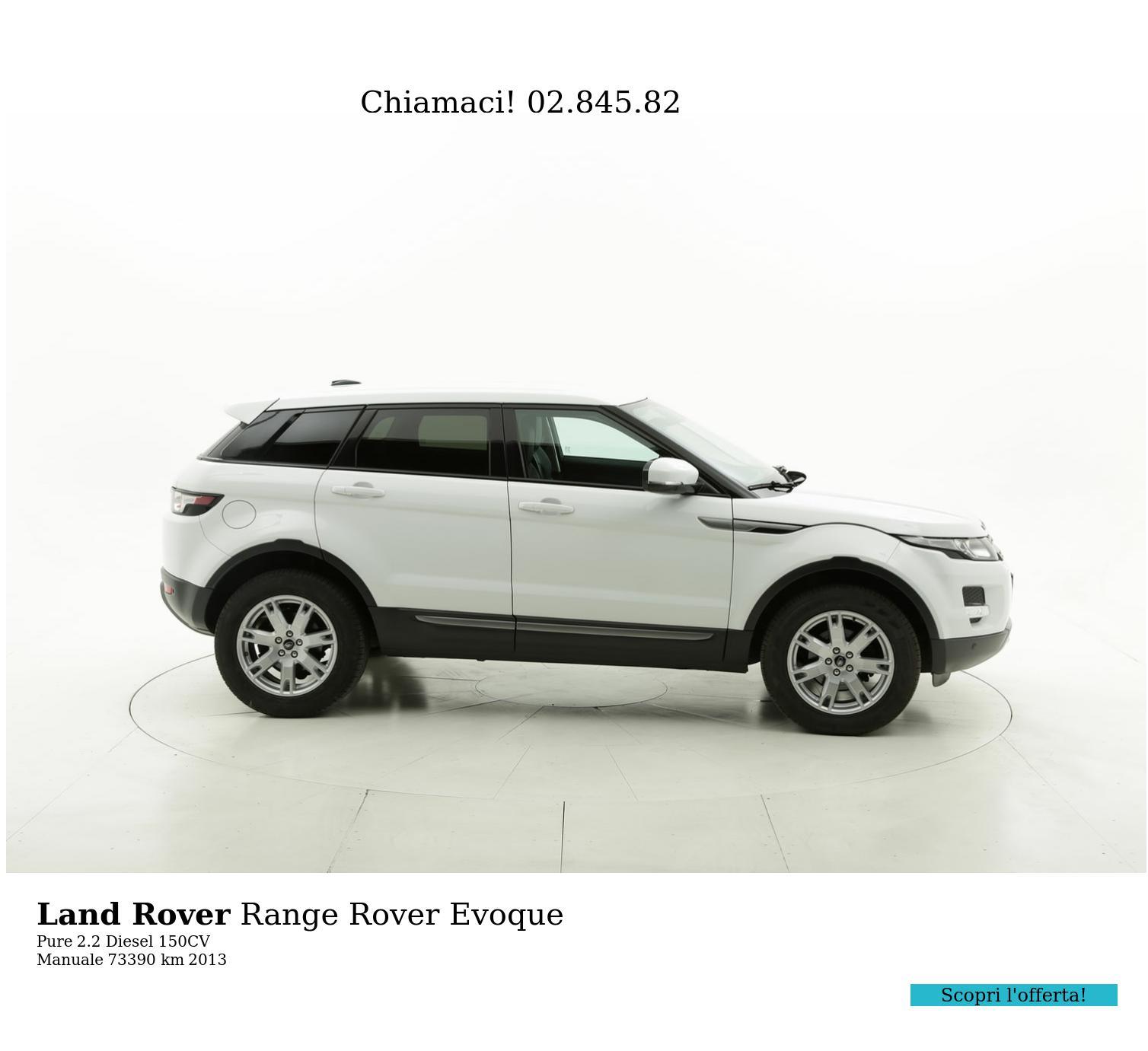 Land Rover Range Rover Evoque usata del 2013 con 73.435 km | brumbrum