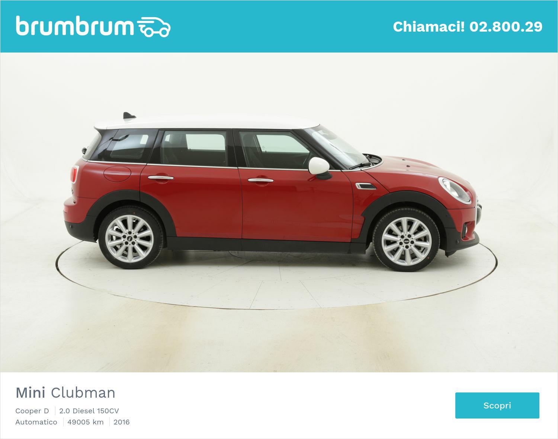 Mini Clubman Cooper D usata del 2016 con 49.087 km | brumbrum