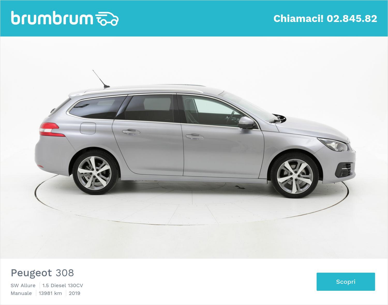 Peugeot 308 usata del 2019 con 14.017 km | brumbrum