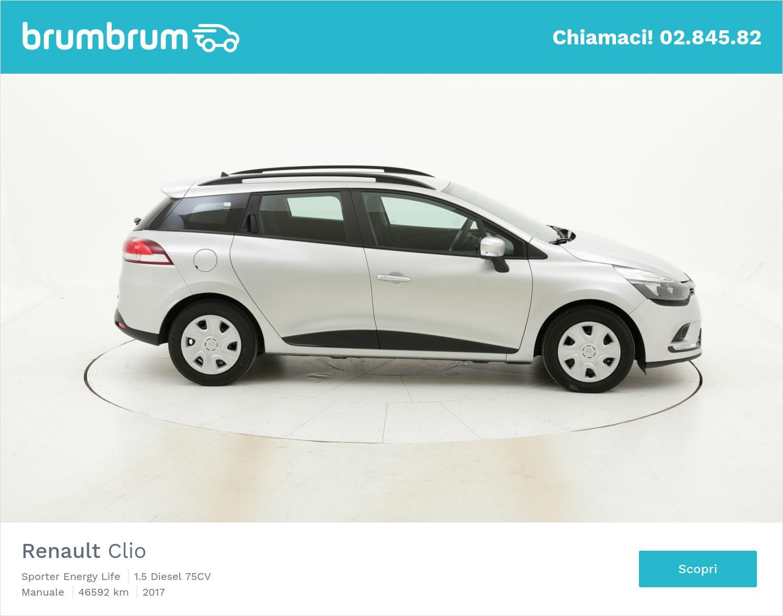 Renault Clio usata del 2017 con 46.784 km | brumbrum