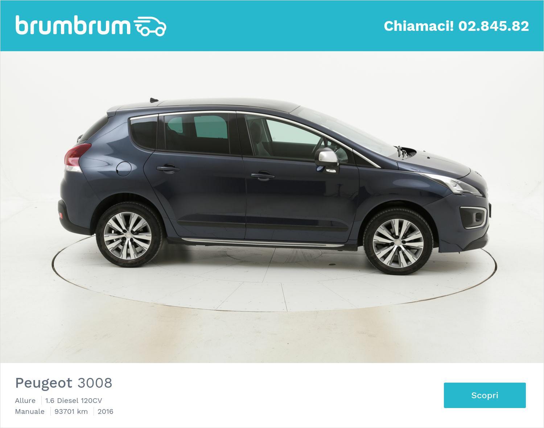 Peugeot 3008 usata del 2016 con 93.878 km | brumbrum