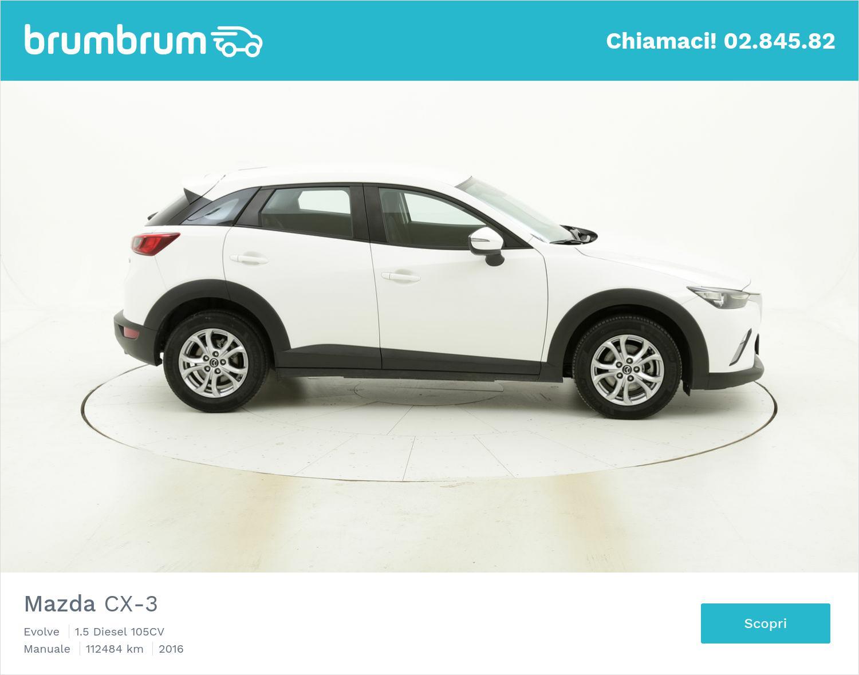 Mazda CX-3 usata del 2016 con 112.493 km | brumbrum