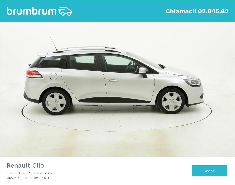 Renault Clio usata del 2014 con 28.380 km | brumbrum