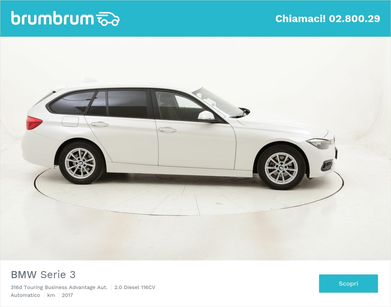 BMW Serie 3 316d Touring Business Advantage Aut. usata del 2017 con 89.605 km | brumbrum