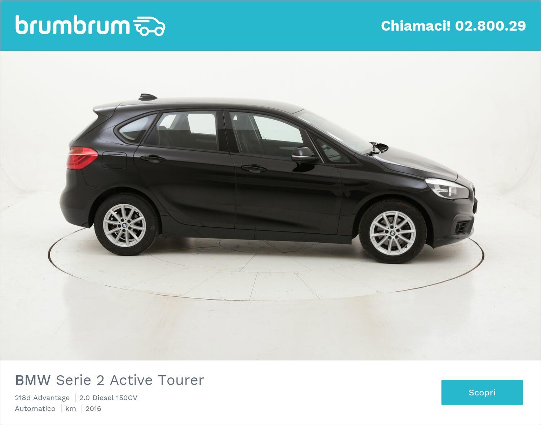 BMW Serie 2 Active Tourer 218d Advantage usata del 2016 con 83.884 km | brumbrum