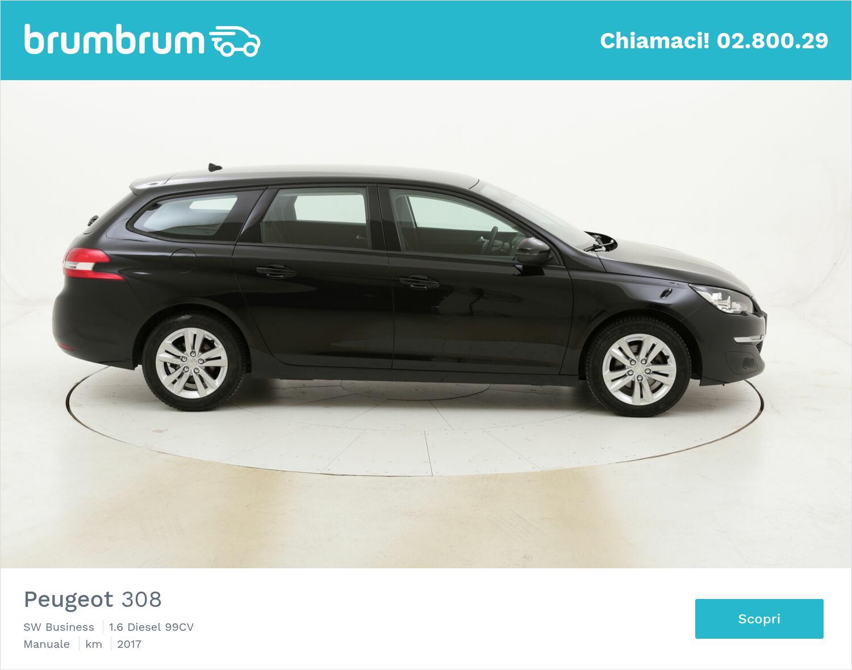 Peugeot 308 SW Business usata del 2017 con 75.457 km | brumbrum