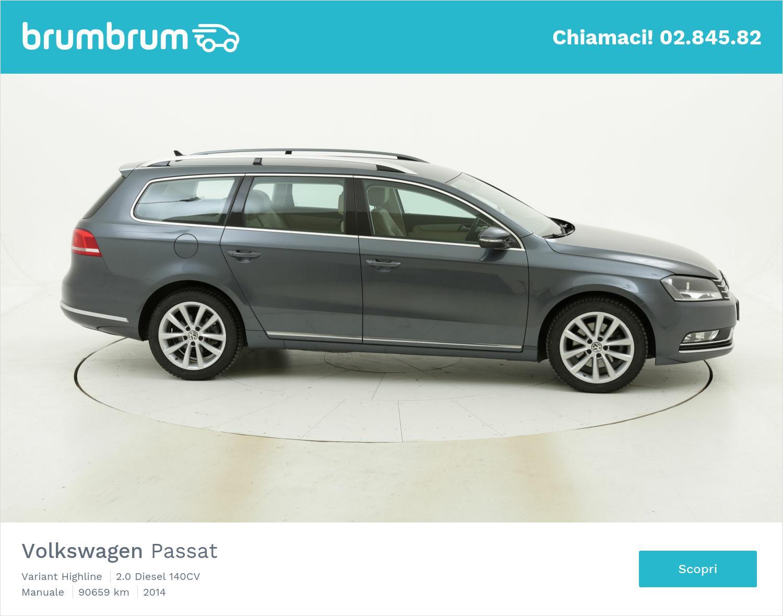 Volkswagen Passat usata del 2014 con 90.984 km | brumbrum