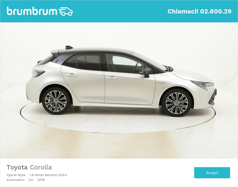 Toyota Corolla Hybrid Style usata del 2019 con 56.154 km | brumbrum