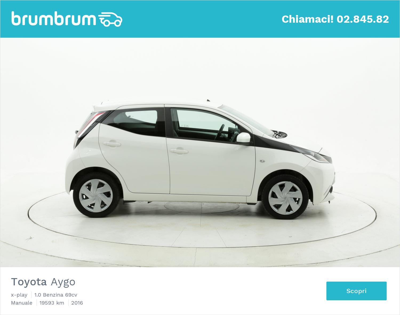 Toyota Aygo usata del 2016 con 19.635 km | brumbrum