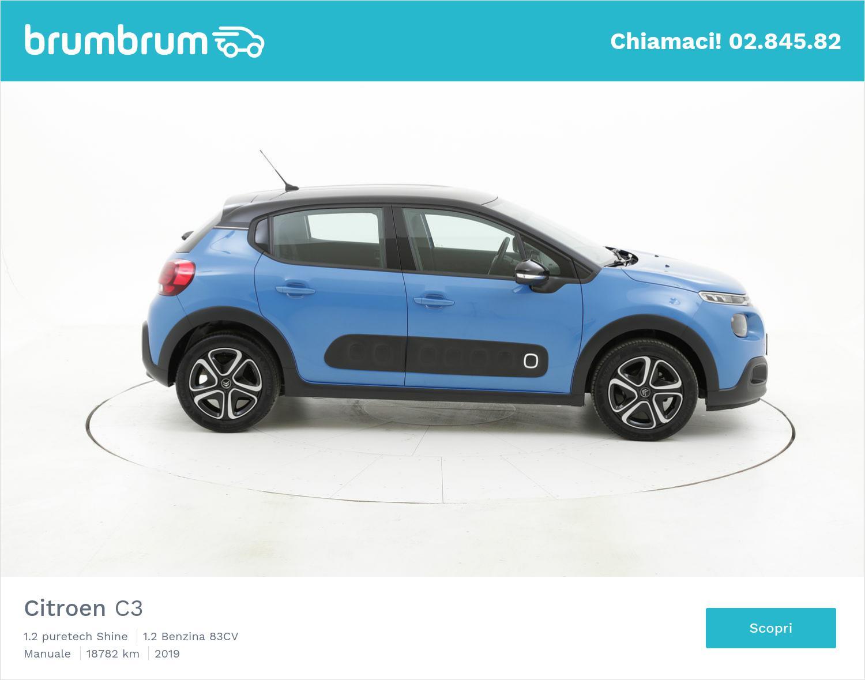 Citroen C3 usata del 2019 con 18.790 km | brumbrum