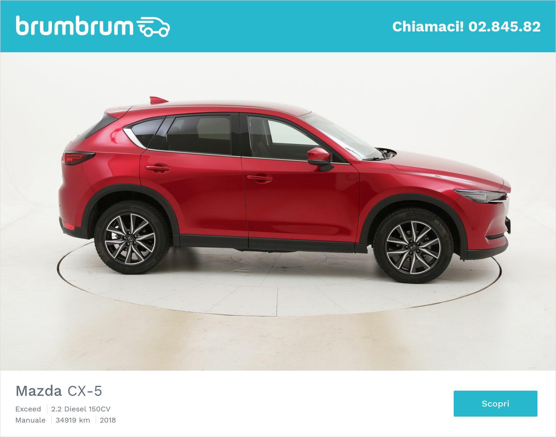 Mazda CX-5 usata del 2018 con 34.943 km   brumbrum