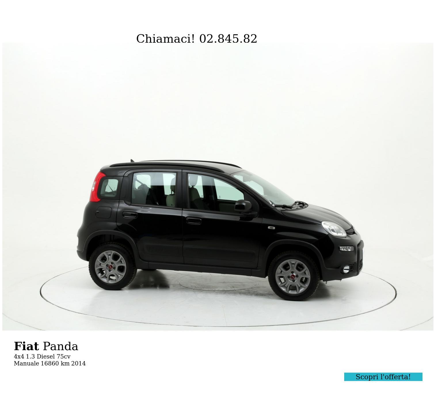 Fiat Panda usata del 2014 con 16.860 km   brumbrum