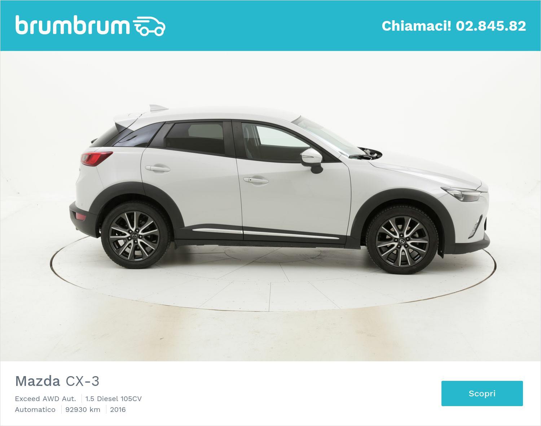 Mazda CX-3 usata del 2016 con 93.071 km | brumbrum