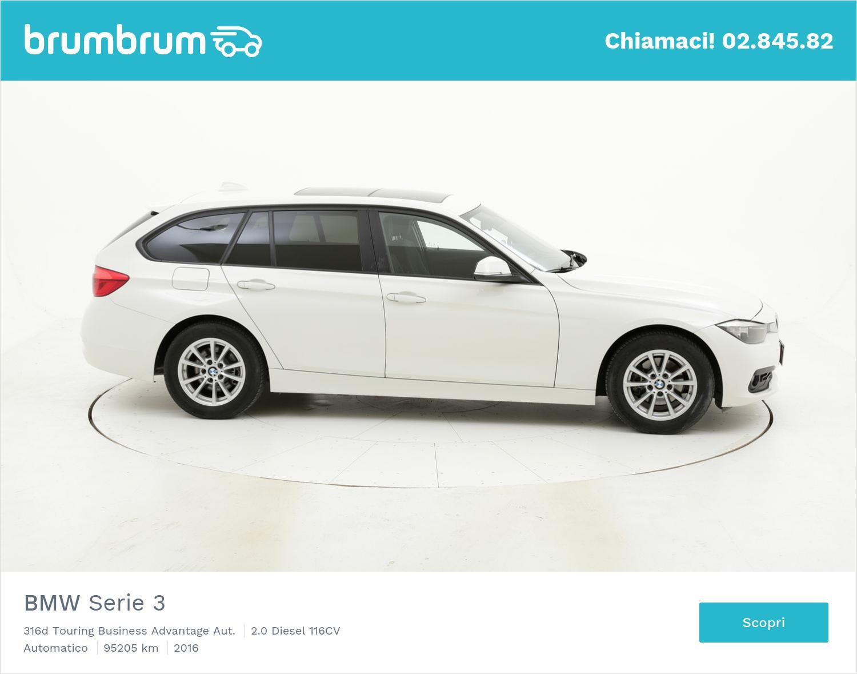 BMW Serie 3 usata del 2016 con 95.383 km | brumbrum