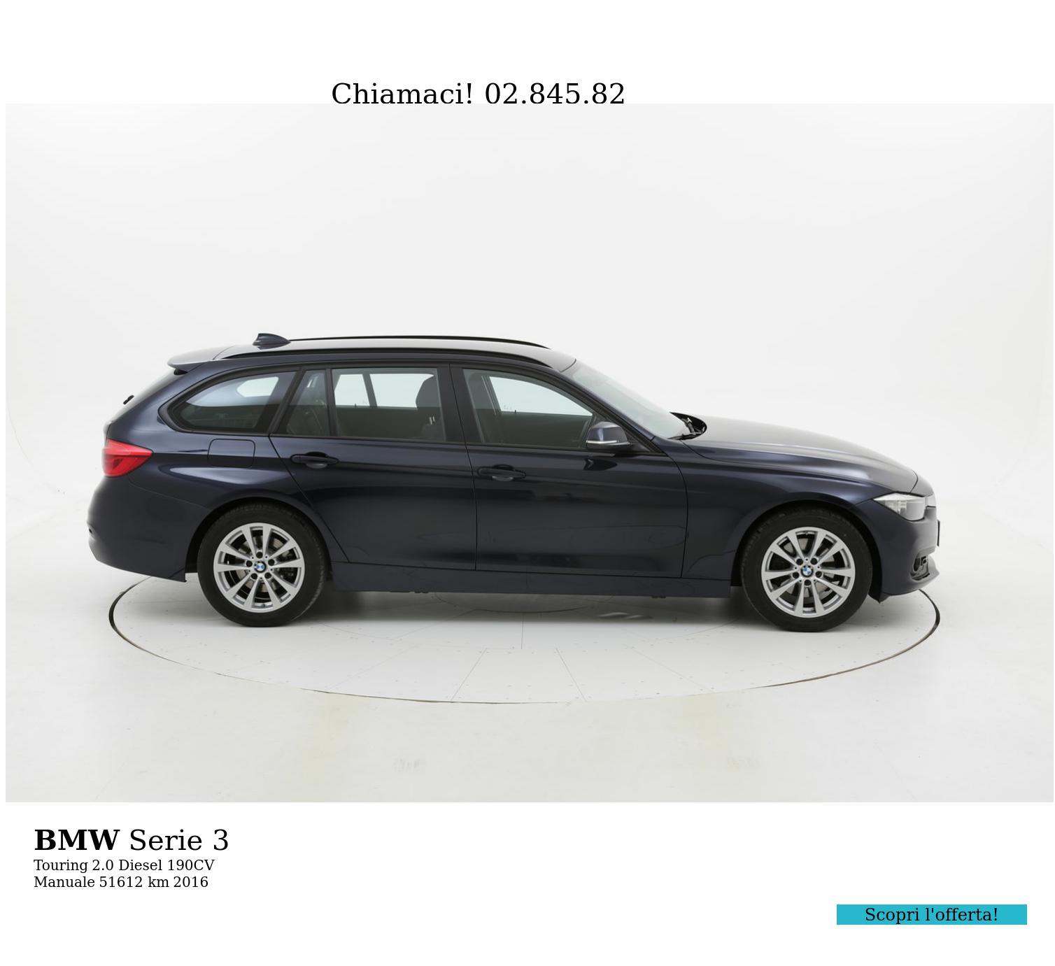 BMW Serie 3 usata del 2016 con 51.629 km | brumbrum