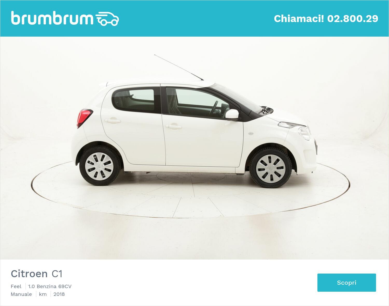 Citroen C1 Feel usata del 2018 con 35.902 km   brumbrum
