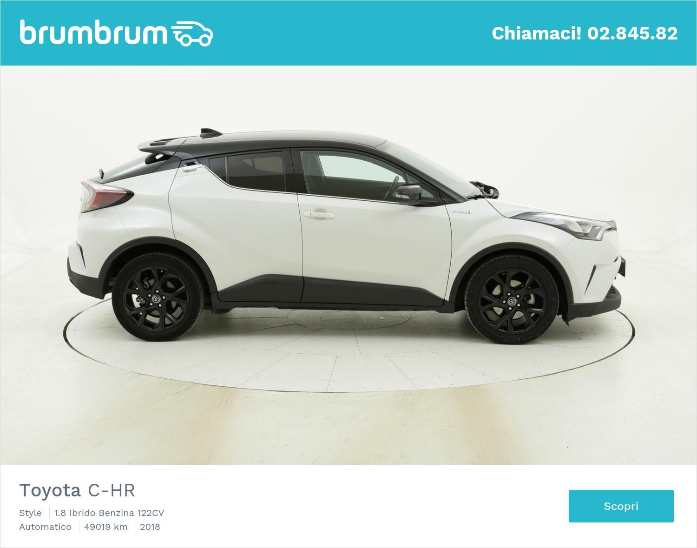 Toyota C-HR usata del 2018 con 49.192 km | brumbrum