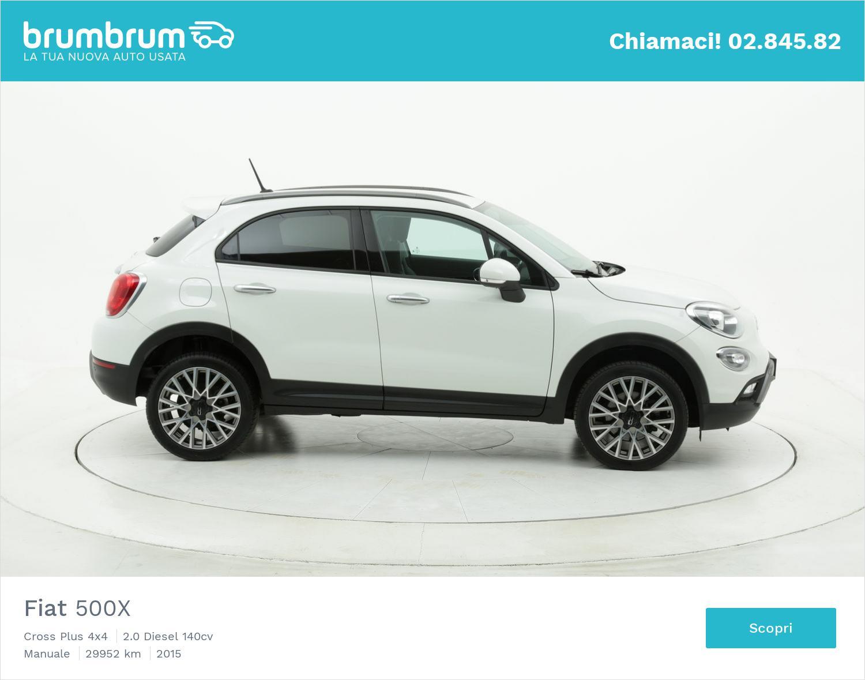 Fiat 500X usata del 2015 con 29.981 km | brumbrum