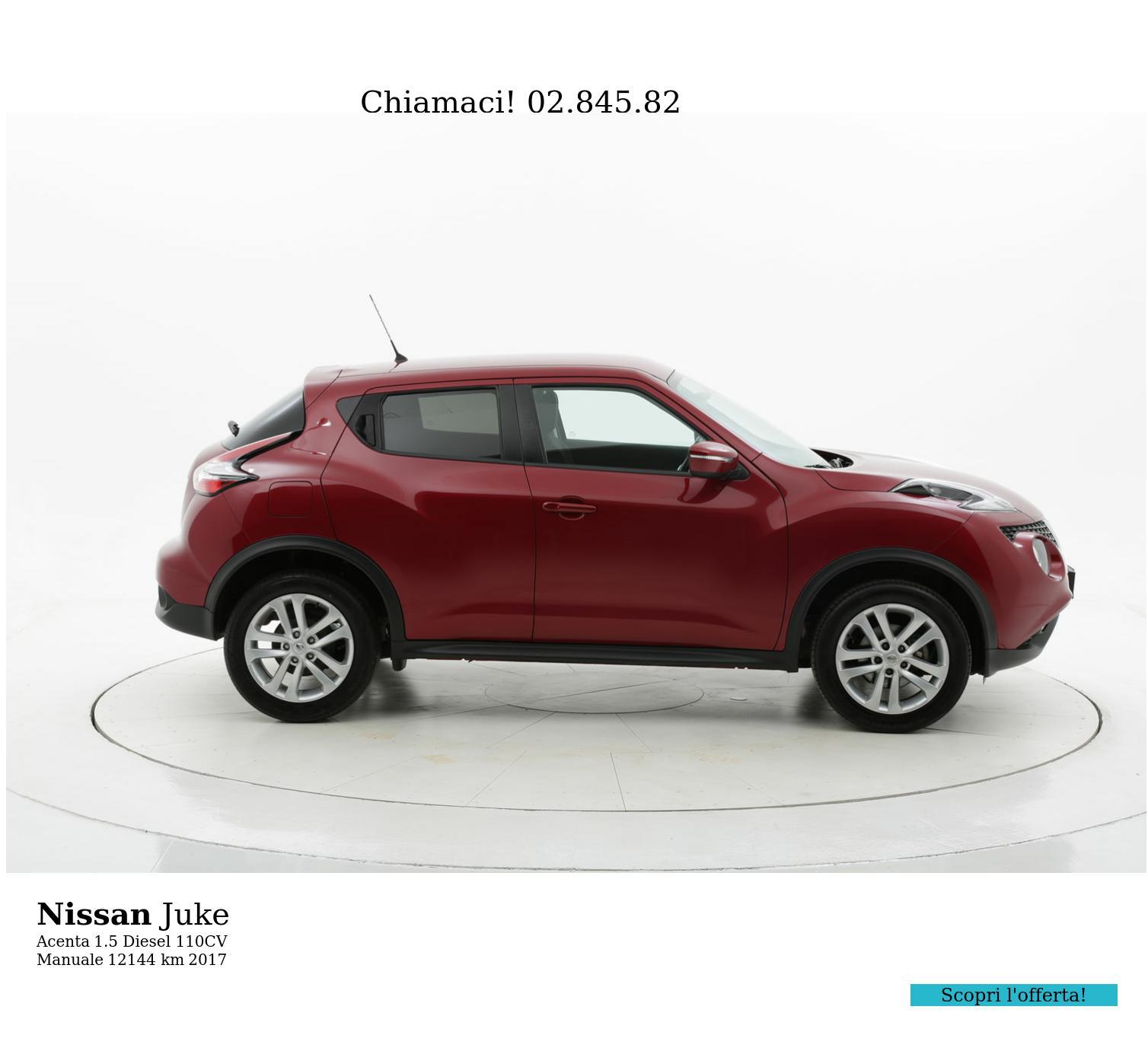Nissan Juke usata del 2017 con 12.152 km   brumbrum