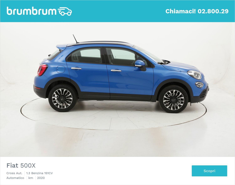 Fiat 500X Cross Aut. usata del 2020 con 7.608 km | brumbrum