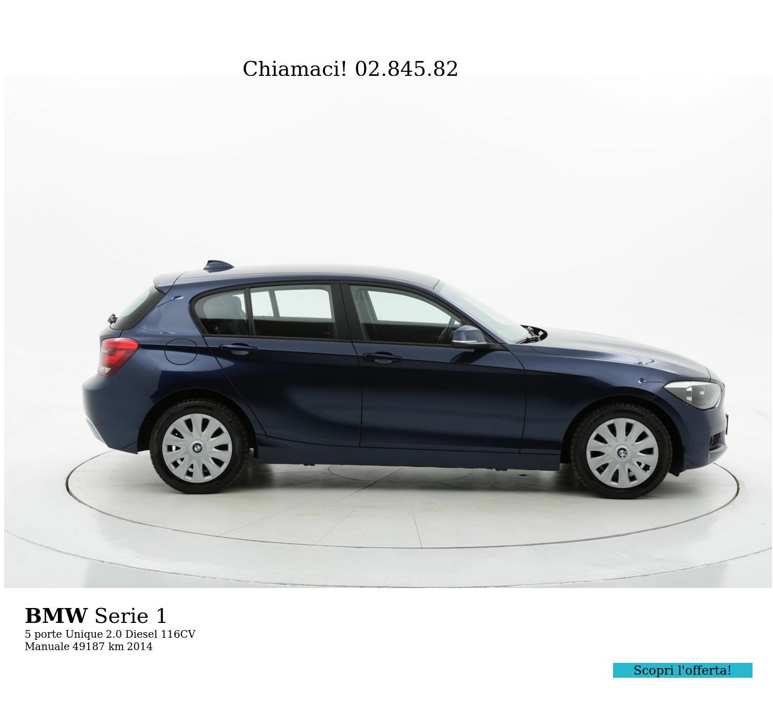 BMW Serie 1 usata del 2014 con 49.372 km | brumbrum