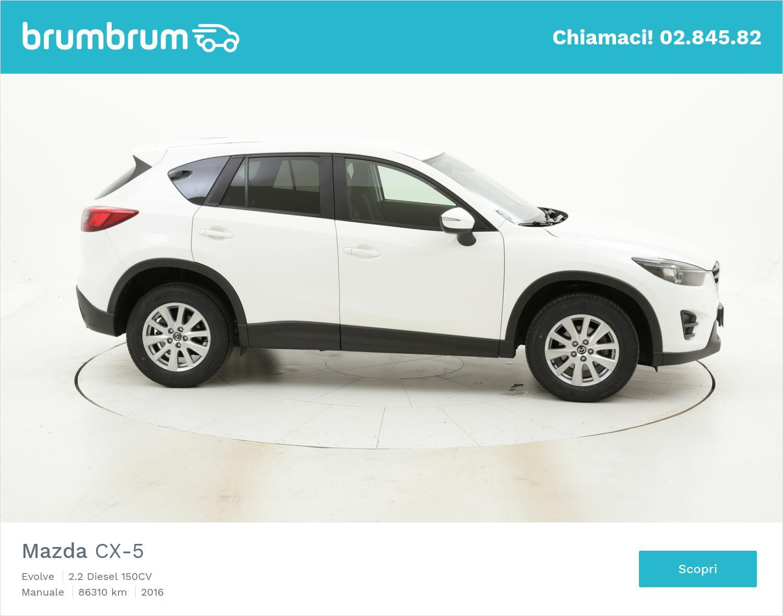 Mazda CX-5 usata del 2016 con 86.967 km | brumbrum