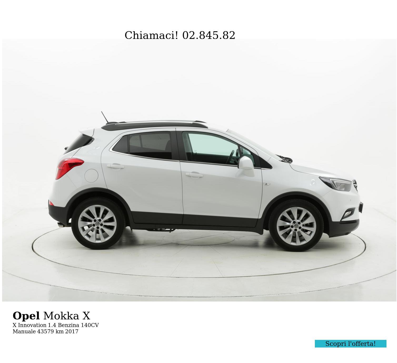 Opel Mokka X usata del 2017 con 43.629 km | brumbrum