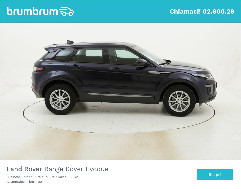 Land Rover Range Rover Evoque Business Edition Pure aut. usata del 2017 con 75.080 km | brumbrum