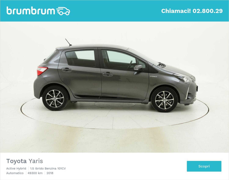Toyota Yaris usata del 2018 con 49.361 km | brumbrum