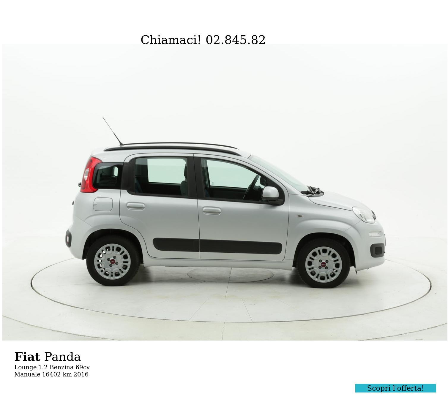 Fiat Panda usata del 2016 con 16.403 km | brumbrum