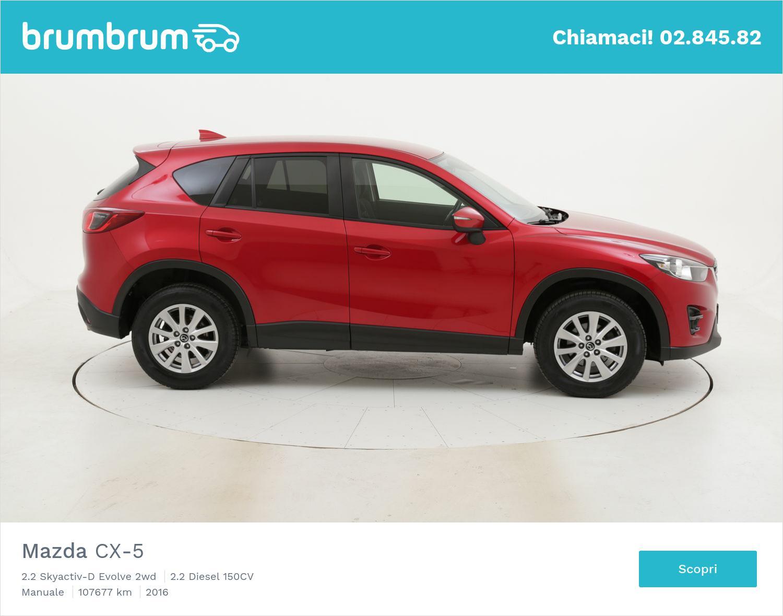 Mazda CX-5 usata del 2016 con 108.046 km | brumbrum