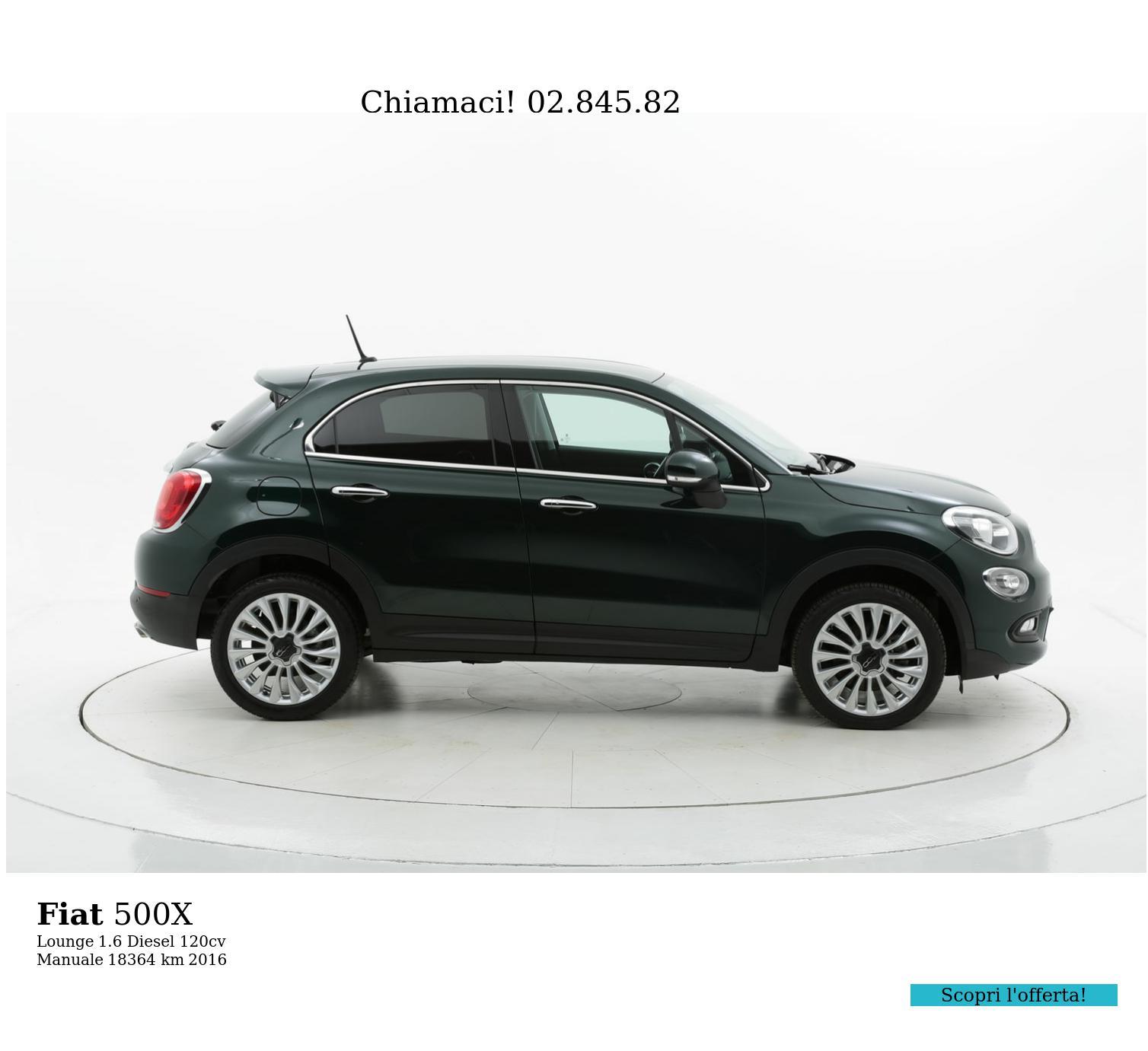 Fiat 500X usata del 2016 con 18.391 km | brumbrum