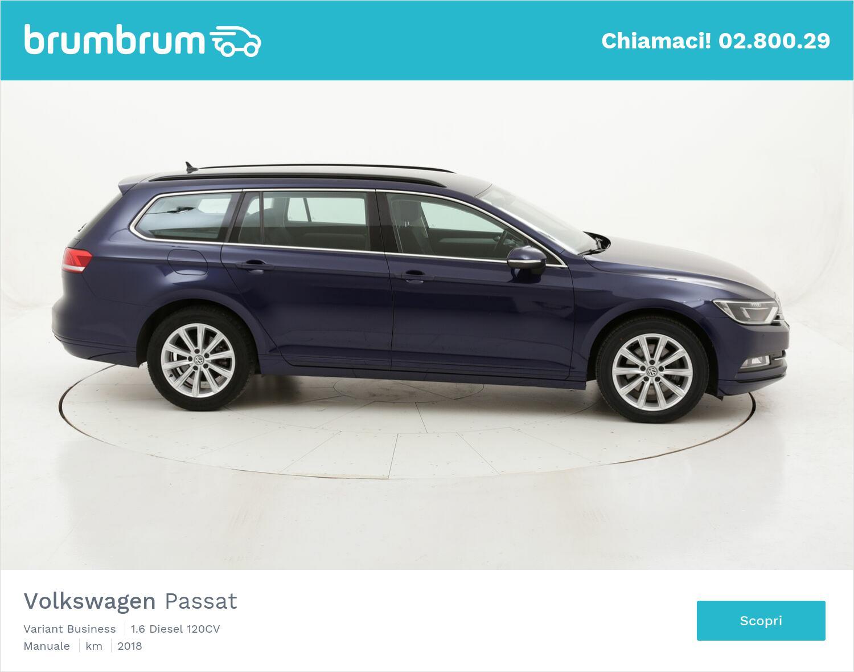 Volkswagen Passat Variant Business usata del 2018 con 111.068 km   brumbrum