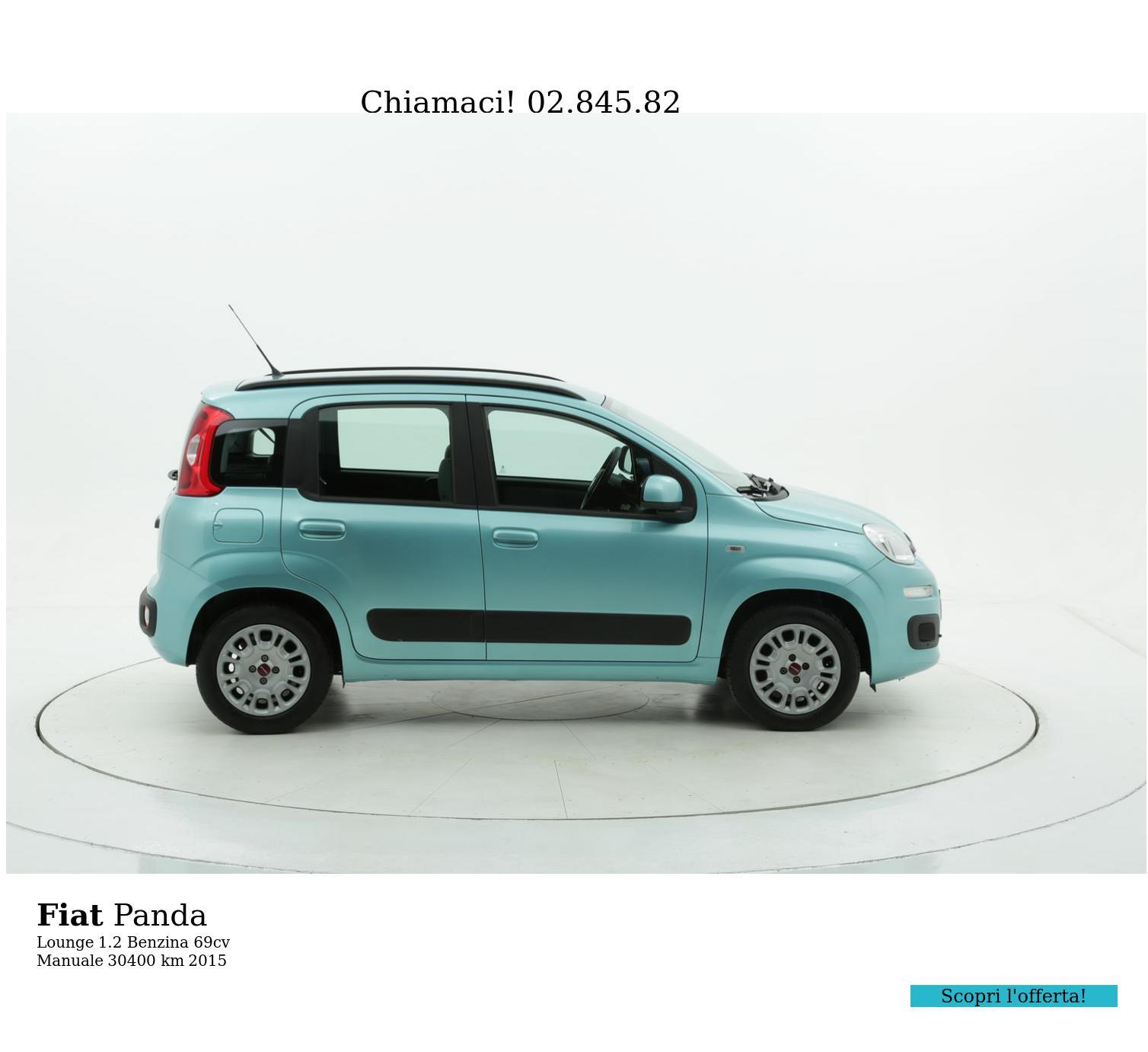 Fiat Panda usata del 2015 con 30.445 km | brumbrum