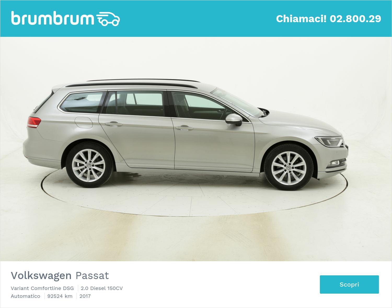Volkswagen Passat Variant Comfortline DSG usata del 2017 con 92.568 km   brumbrum