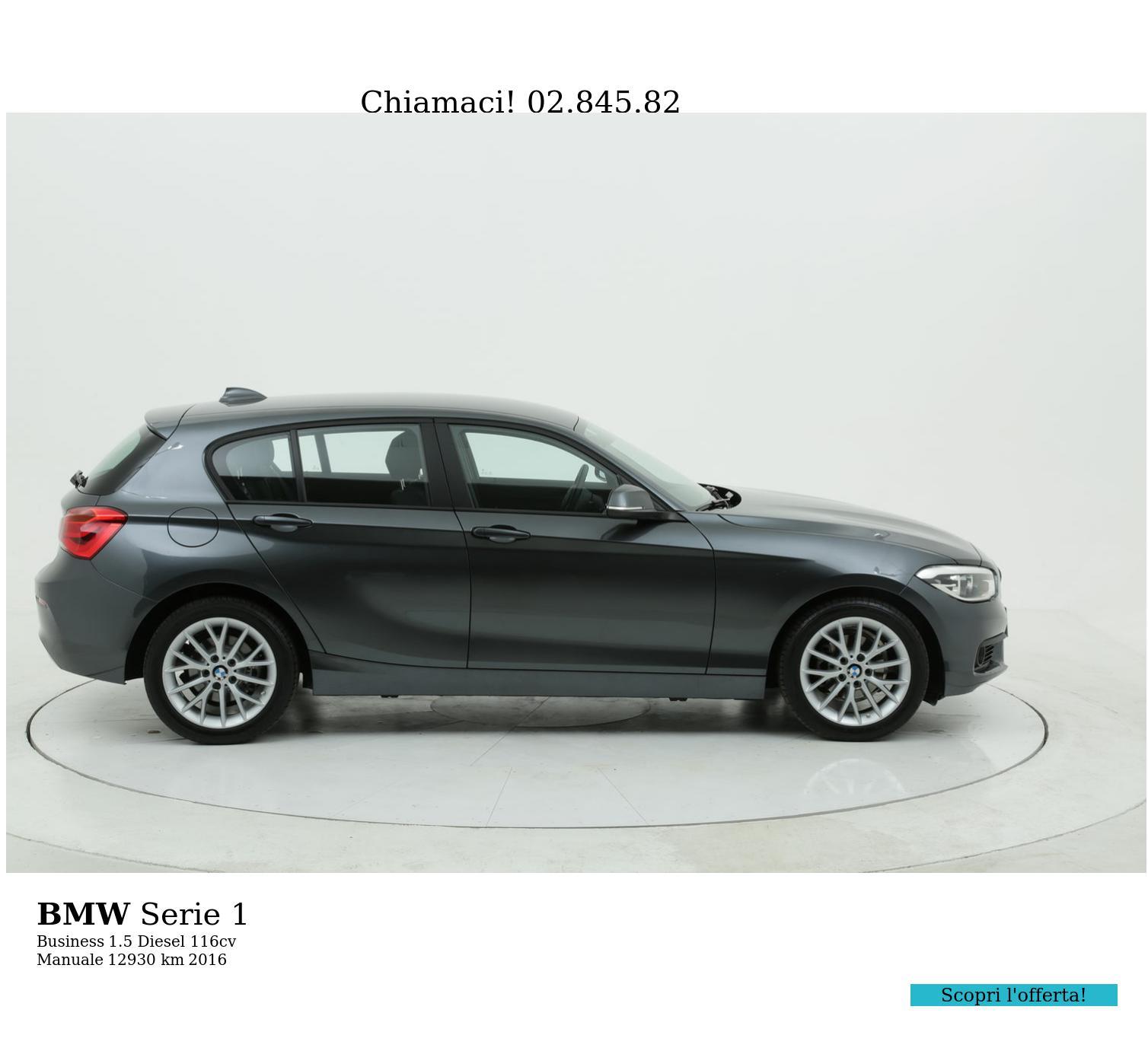 BMW Serie 1 usata del 2016 con 12.948 km | brumbrum