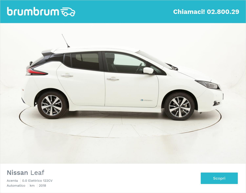 Nissan Leaf Acenta usata del 2018 con 20.992 km   brumbrum
