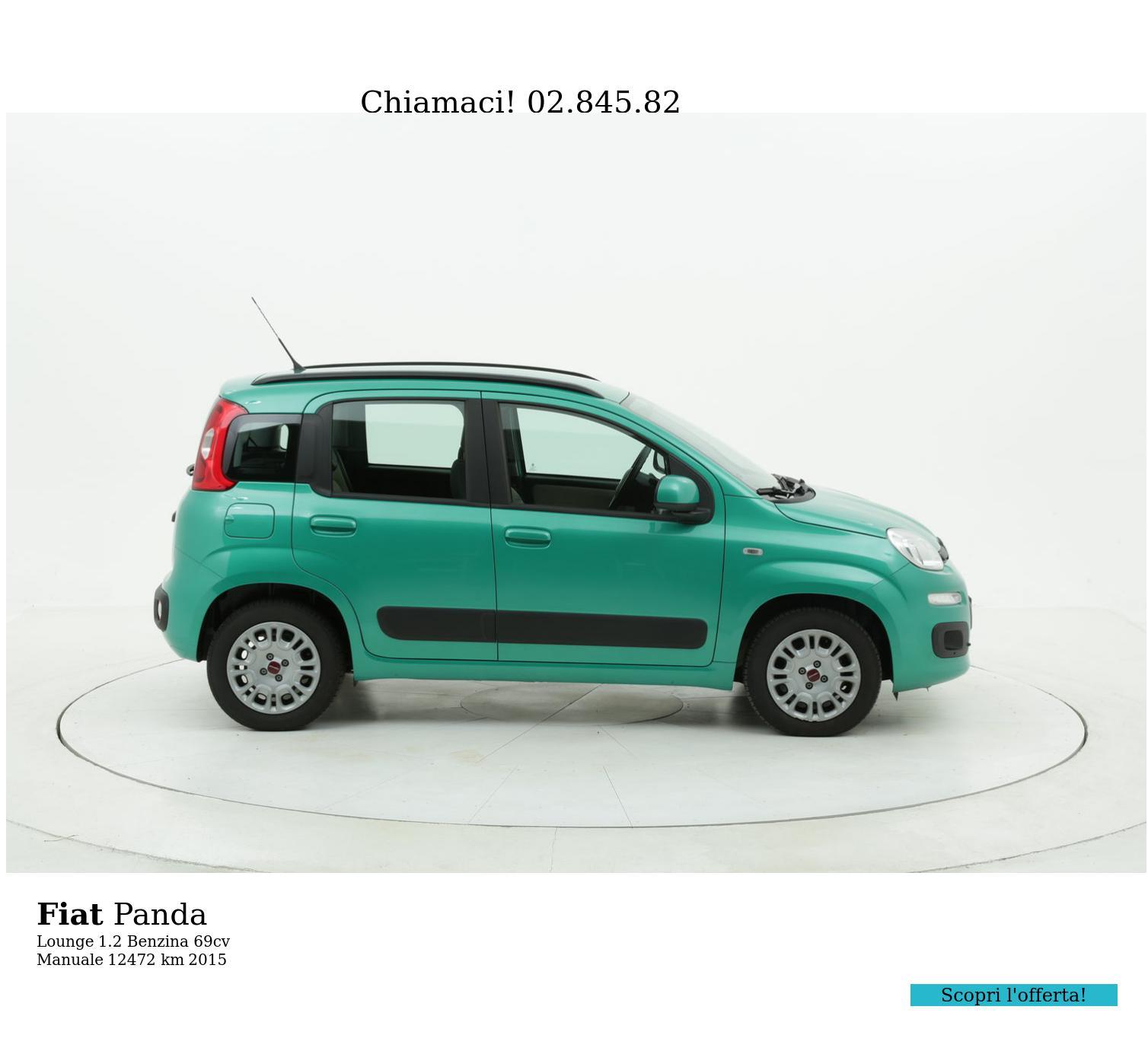 Fiat Panda usata del 2015 con 12.515 km | brumbrum
