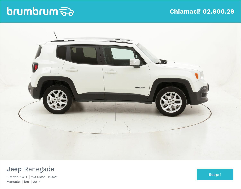 Jeep Renegade Limited 4WD usata del 2017 con 100.053 km | brumbrum
