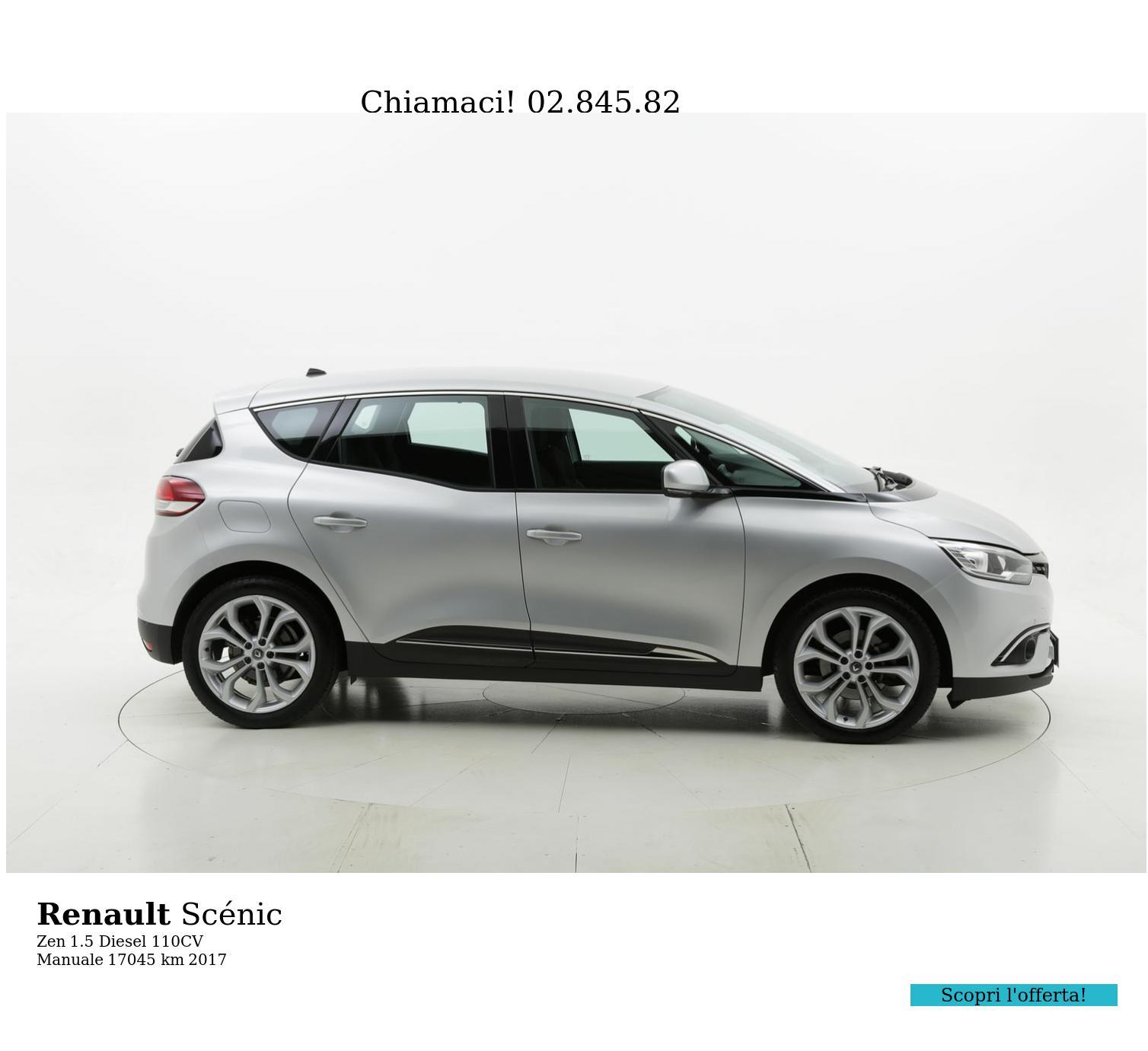 Renault Scénic usata del 2017 con 17.181 km | brumbrum