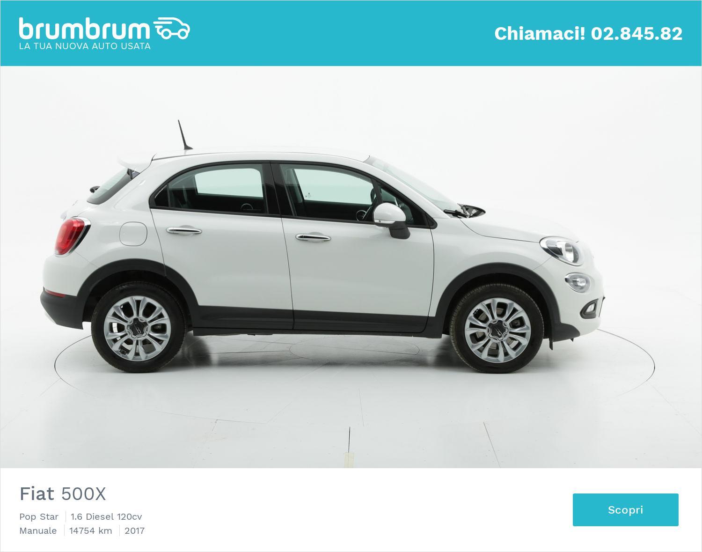 Fiat 500X usata del 2017 con 14.768 km | brumbrum