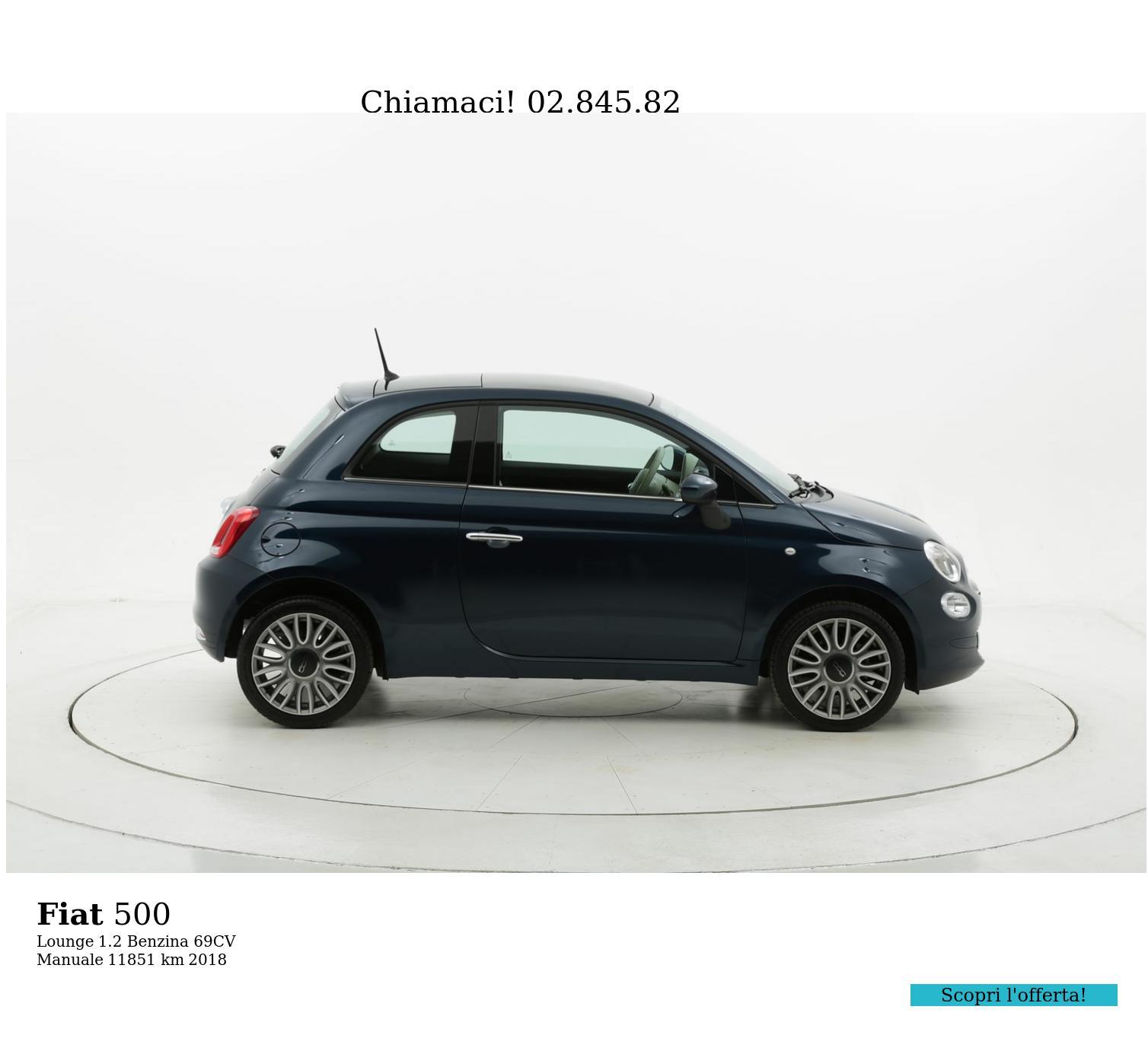 Fiat 500 usata del 2018 con 11.400 km | brumbrum