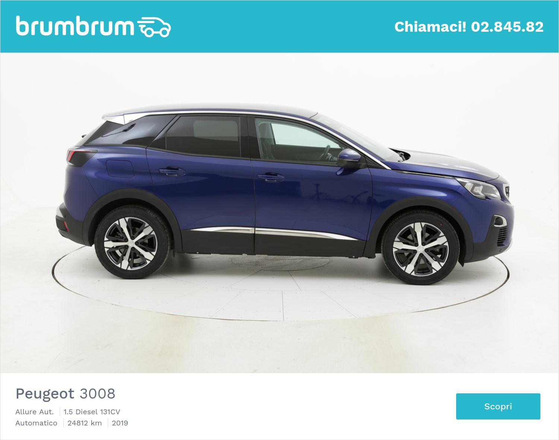 Peugeot 3008 usata del 2019 con 24.831 km | brumbrum