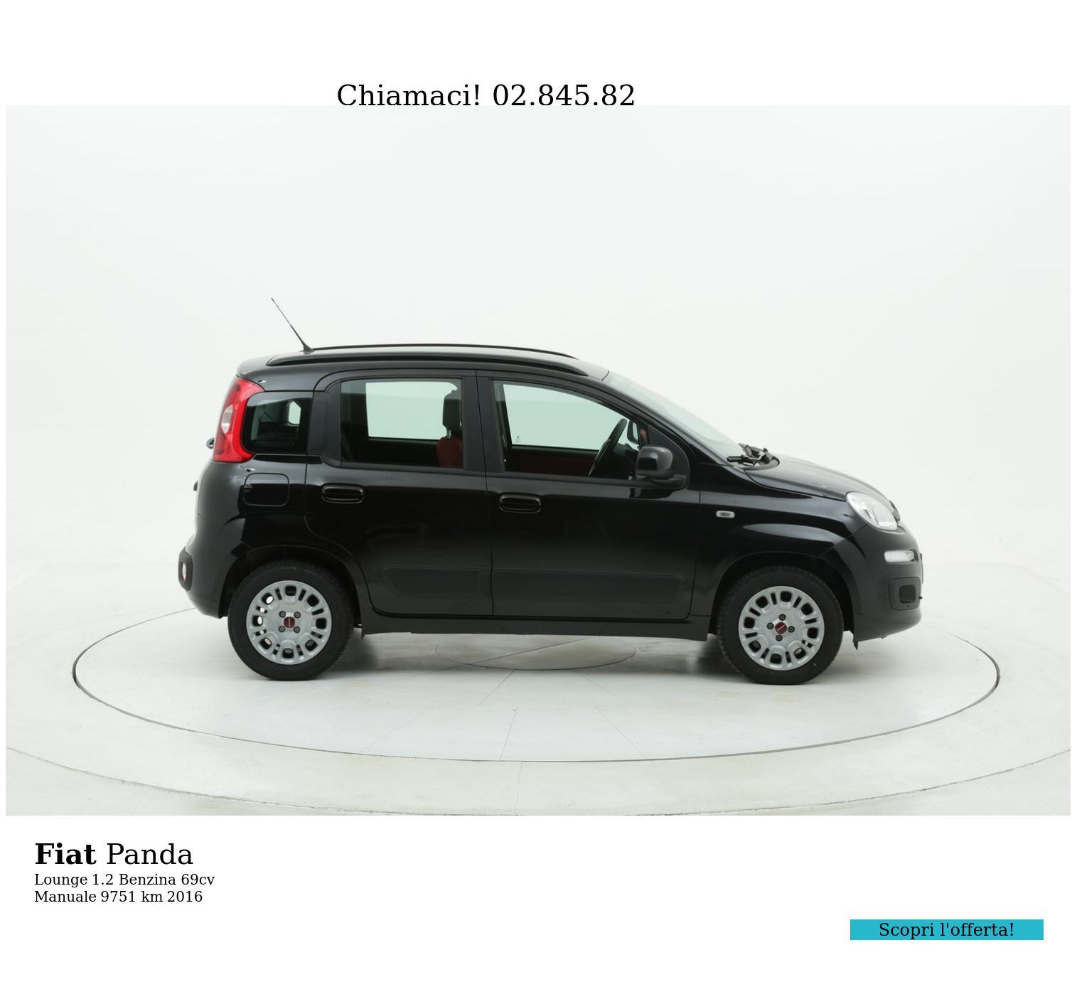 Fiat Panda usata del 2016 con 9.763 km | brumbrum