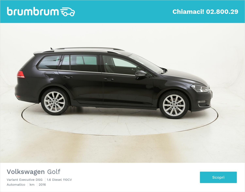Volkswagen Golf Variant Executive DSG usata del 2016 con 114.336 km   brumbrum