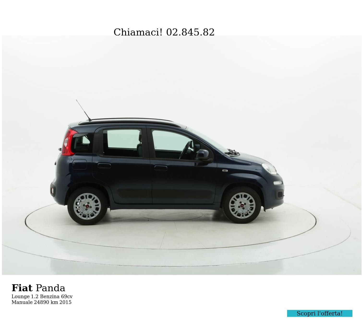 Fiat Panda usata del 2015 con 24.915 km   brumbrum