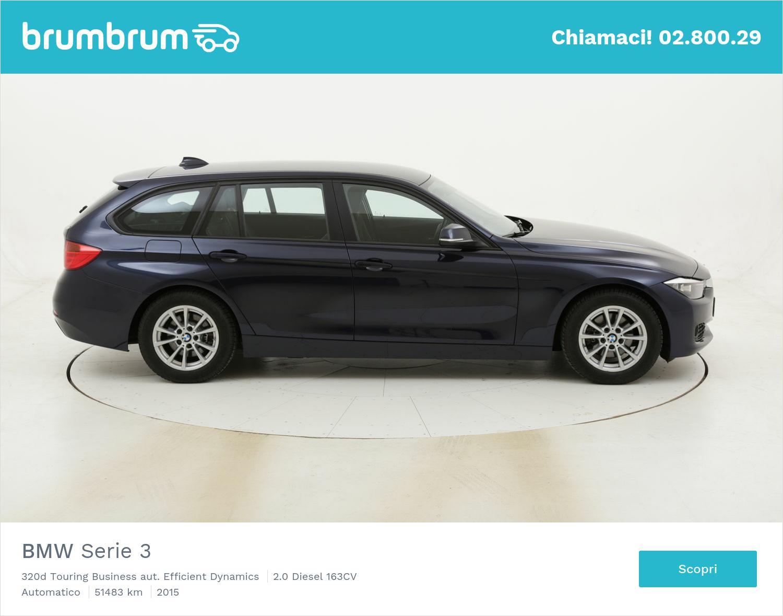 BMW Serie 3 320d Touring Business aut. Efficient Dynamics usata del 2015 con 52.058 km | brumbrum