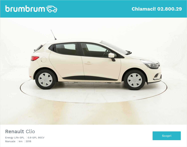 Renault Clio Energy Life GPL usata del 2018 con 82.532 km | brumbrum